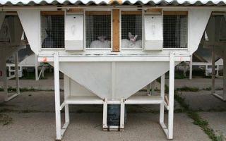 Функциональные клетки для кроликов по методу михайлова