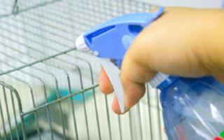 Чем обработать и дезинфицировать кроличьи клетки